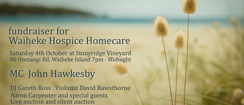 Fundraiser for Waiheke Hospice Homecare