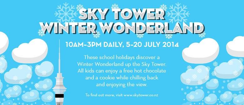 Sky Tower Winter Wonderland School Holidays
