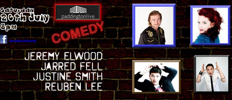 Live Comedy Featuring Jeremy Elwood