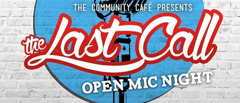 Open Mic - Jam Night (Last Call!)
