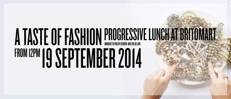 'A Taste of Fashion' Progressive Lunch