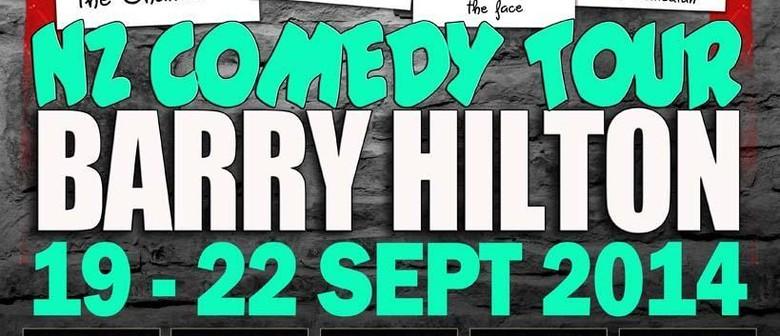 Barry Hilton NZ Tour