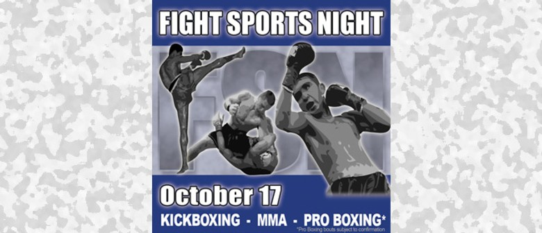 Fight Sports Night - Christchurch - Eventfinda