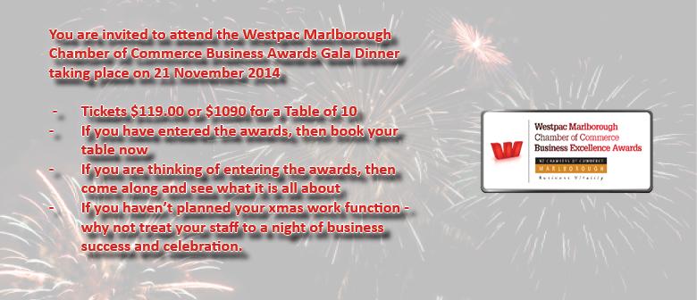 Westpac Marlborough Chamber of Commerce Business Awards