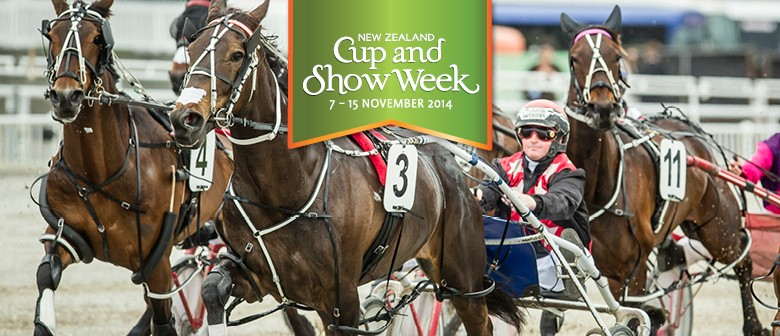 Christchurch Casino New Zealand Trotting Cup Day
