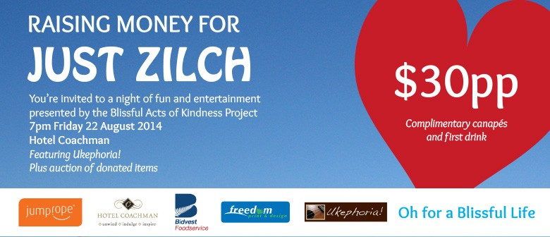 Paying it Forward Fundraiser for Just Zilch