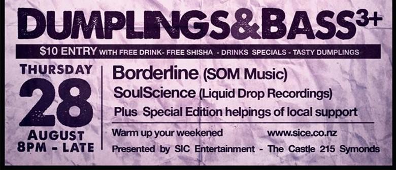 Dumplings&Bass 3+ Ft Borderline & SoulScience