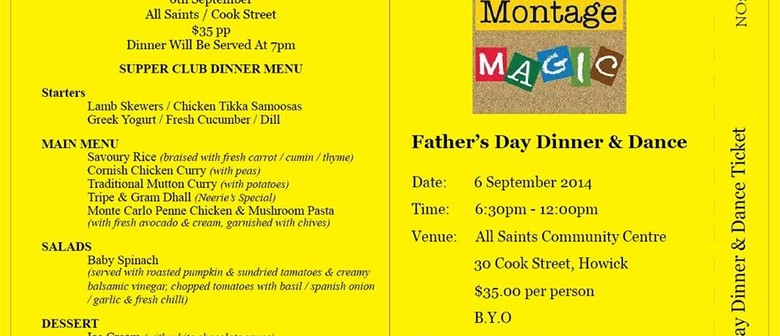 Montage Magic - Father's Day Dinner & Dance + BYO