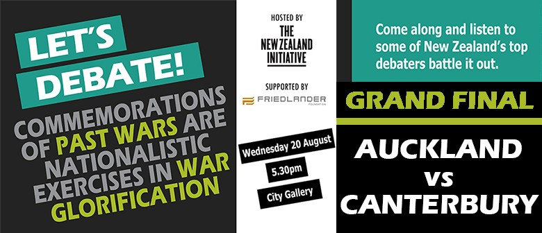 The New Zealand Initiative Next Generation Debates