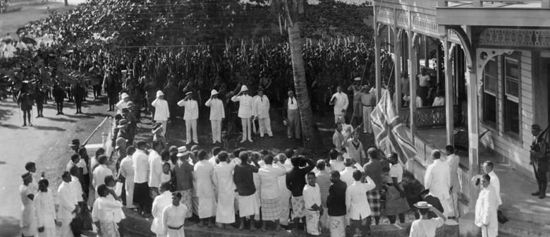 National Ceremony - 1914 Occupation of German Samoa