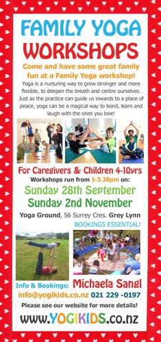 Family Yoga Workshops