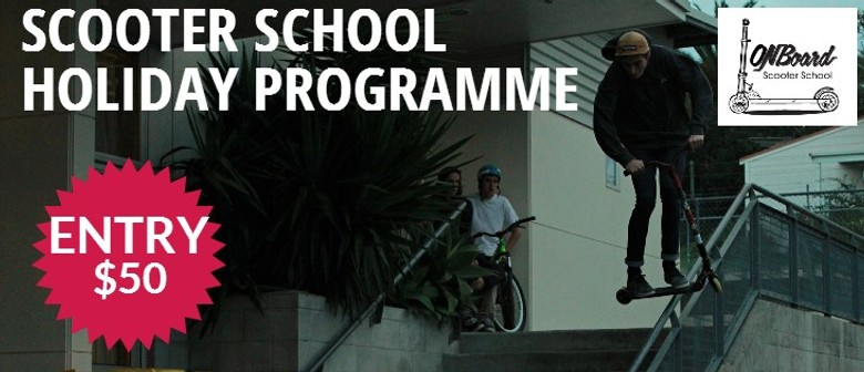 Term 3 Scooter School Holiday Programme