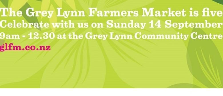 Farmers' Market 5th Birthday Celebration!