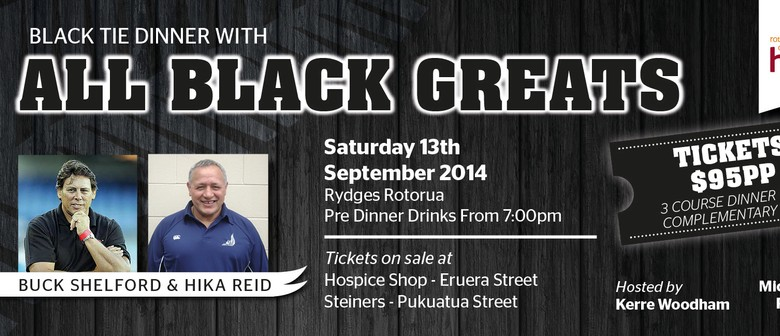 All Black Greats - Black Tie Dinner