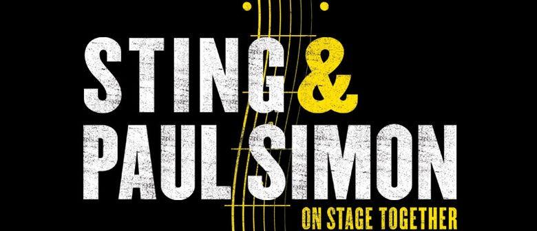 Paul Simon and Sting