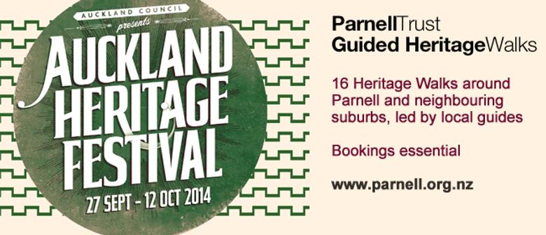 Auckland Heritage Festival Walk: Judges Bay