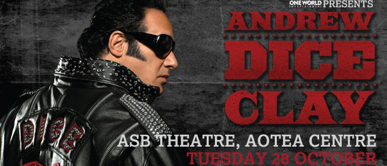 Andrew Dice Clay: The Diceman Cometh Down Under: CANCELLED
