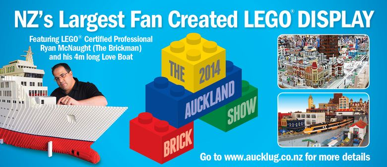 Auckland Brick Show (Lego Display)