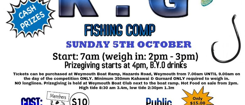 K.G Fishing Comp (Postponed)