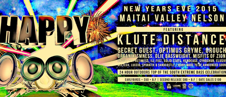 Happy New Yeah featuring Klute & Distance UK