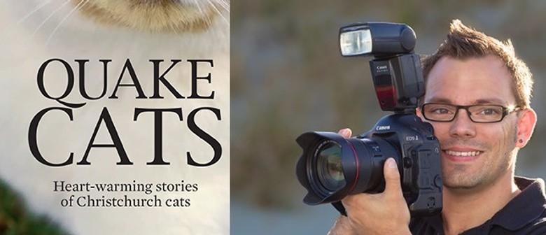 Quake Cats - Author/Photographer Book Signing - Craig Bulloc