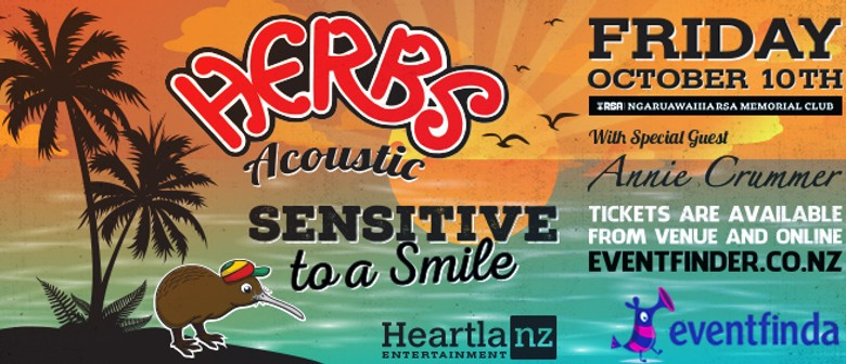 Herbs Acoustic with Special Guest Annie Crummer
