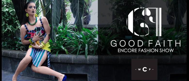 Good Faith Encore Fashion Show Wellington Eventfinda