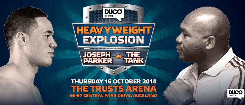Duco Events Heavyweight Explosion, Parker v Williams