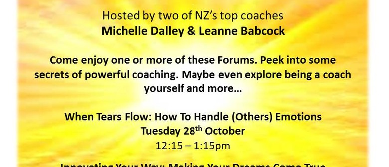 Essentially Coaching Presents: Personal Empowerment Forums