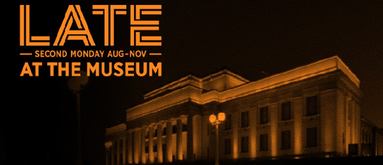 LATE at the Museum w/ Oscar Kightley, Annie Crummer and more