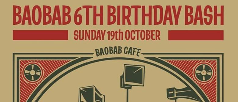Baobabs Sixth Birthday Bash