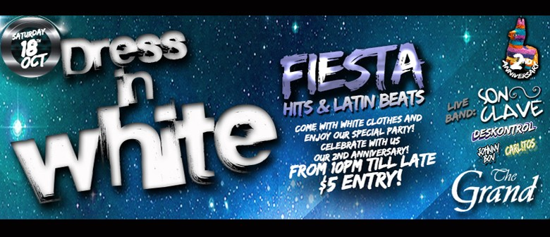 Dress in White Fiesta