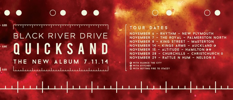 Black River Drive - Quicksand Album Release Tour