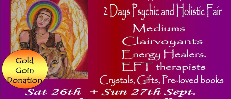 Healing Art Angel Gallery Exhibition and Psychic Fair