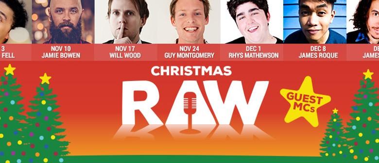Raw Comedy - Christmas Season