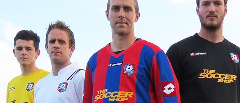 WaiBOP United v Canterbury United (ASB Premiership football)