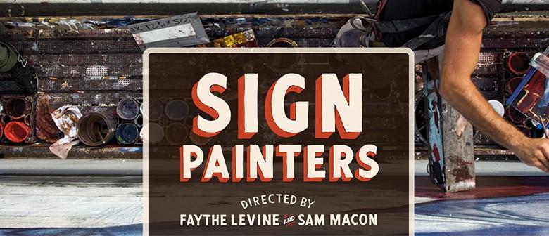 Sign Painters Film Screening