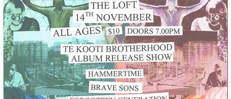Te Kooti Brotherhood Album Release Show