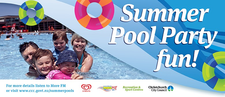Jellie park season opener christchurch eventfinda Canterbury swimming pool opening hours