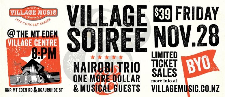 Village Soirée featuring The Nairobi Trio & Friends
