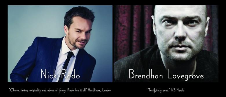 Raucousness at the Red Room - Brendhan Lovegrove & Nick Rado