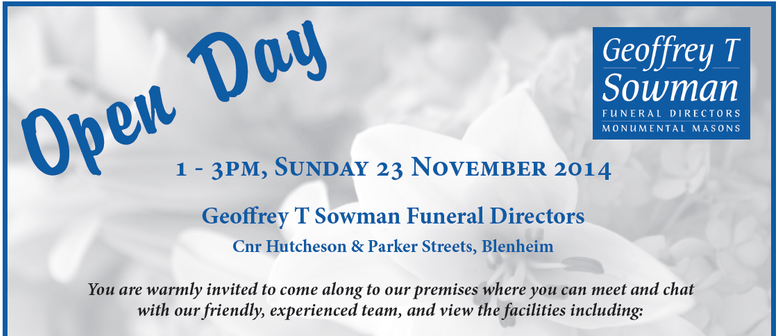 Open Day at Geoffrey T Sowman Funeral Directors