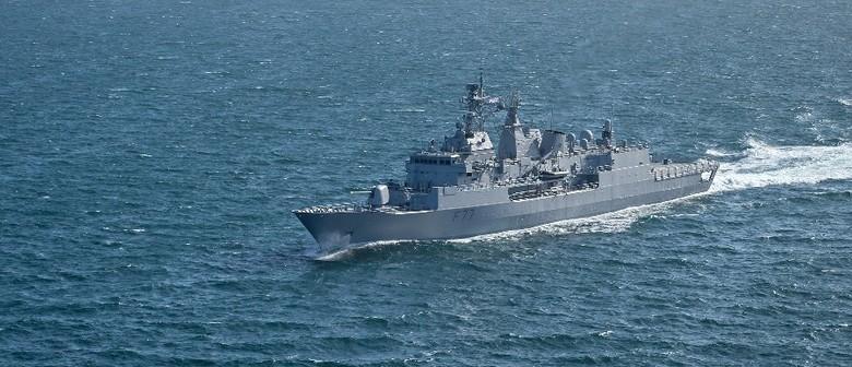 Navy Warship Te Kaha Open Day