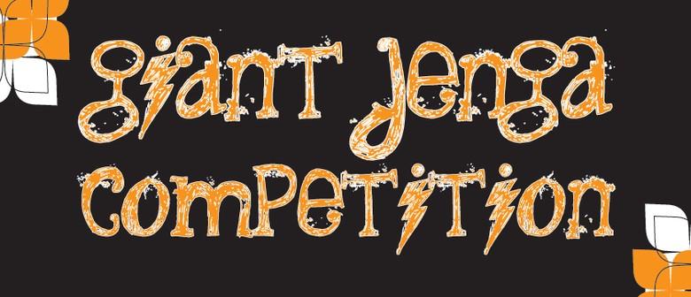 Giant Jenga Competition