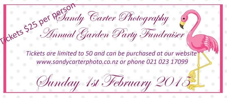 Sandy Carter Photography Garden Party Fundraiser