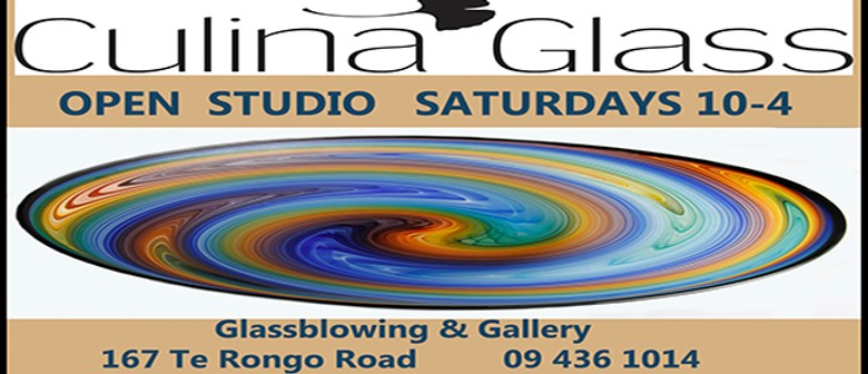 Christmas Sale and Live Glassblowing