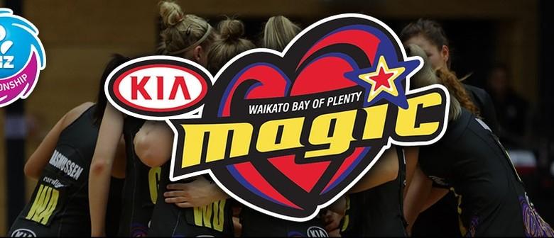 Kia Magic v Central Pulse - ANZ Championship
