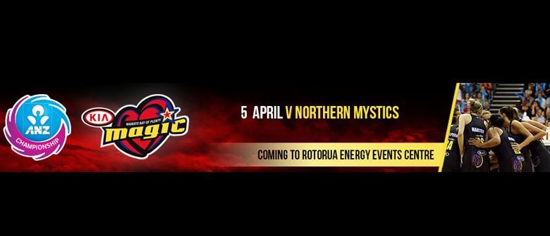 ANZ Netball Championship: KIA Magic v Northern Mystics