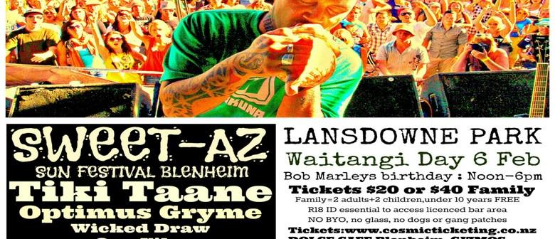 Sweet-Az Sun Festival Waitangi Day
