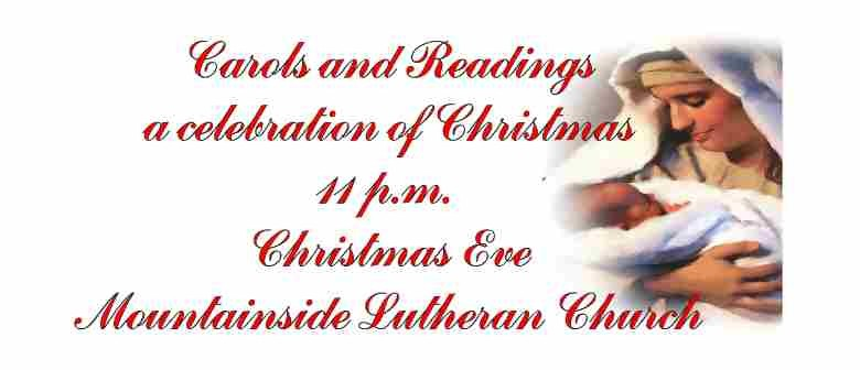 Christmas Readings.Readings And Carols For Christmas Eve Auckland Eventfinda